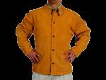 Jakna s protipožarnim hrbtiščem iz tkanine in notranjim žepom