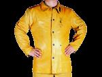 Usnjena jakna iz hrapavega usnja Golden Brown 44-5530/81