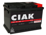 Akumulator CIAK Starter 75Ah, D+